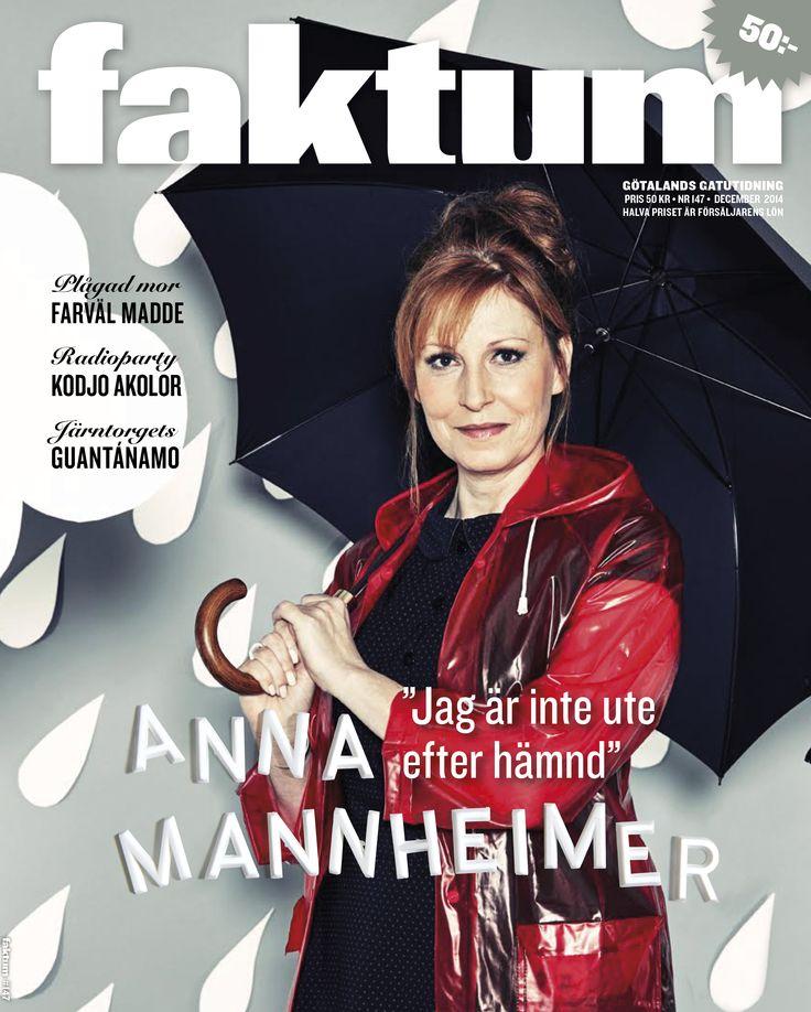 Idé, scenografi, setbygge, layout och typografi för Faktum.  Foto: Kim Svensson Smink & styling: Sofia Bothén Wilks