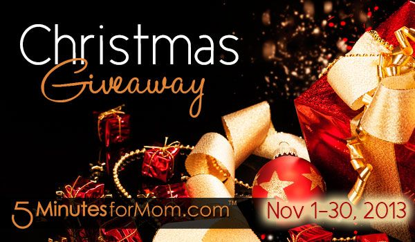 Christmas Giveaway 2013 - New Giveaways Listed Daily in November --> some great picts from the gals at @Susan & Janice (5 Minutes For Mom): Holidays Gifts Guide, Holiday Gifts, Holiday Gift Guide