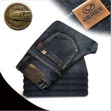 Caliente venta! 2015 nuevo llegado cuatro estaciones pantalones vaqueros de hombre, hombres delgados pantalones rectos, ' s de la marca alta calidad pantalones vaqueros 2019#(China (Mainland))