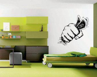Pared vinilo Sticker etiquetas Mural sala por RoomDecalsAndDesigns