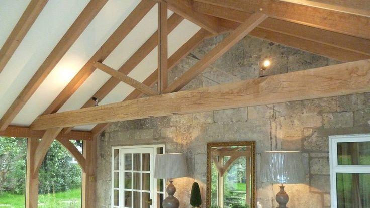 oak garden room inside