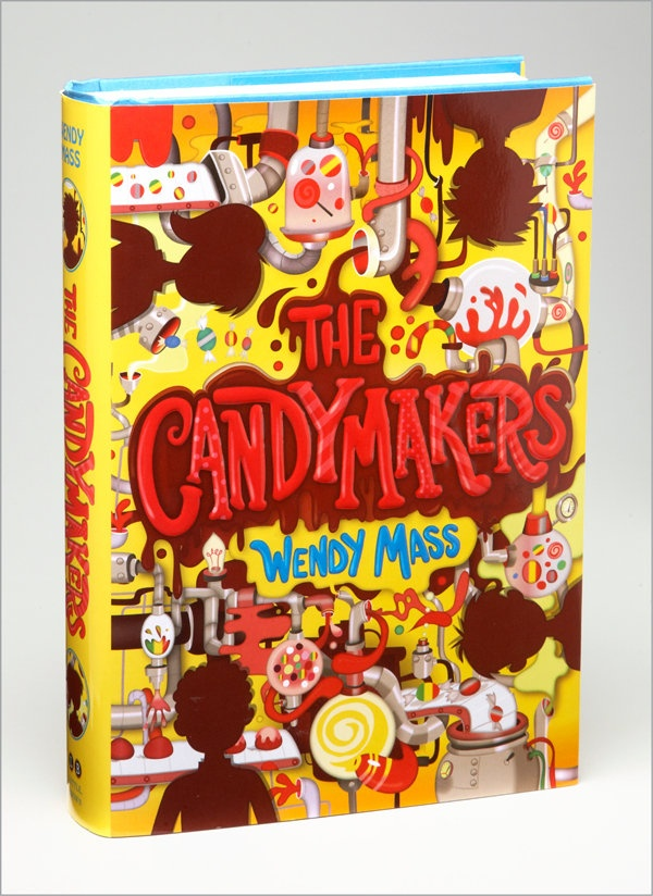 The Candymakers  on my bedside table  Chapter books
