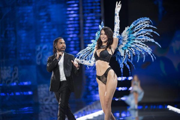 Black #Cosmopolitan Watch: Miguel Takes 'Told You So' & More To 2017 'Victoria's Secret Fashion Show' - BlkCosmo.com   #BellaHadid, #Clothing, #Emek, #Miggy, #Victoria'SSecret, #VICTORIA'SSECRETFASHIONSHOW, #VISUALARTS           (Photo by Timur Emek/FilmMagic)  The promo trail is heating up for Grammy-award winning crooner Miguel in support of his soon-to-be-released new project, 'War & Leisure' (in stores December 1). In addition to announcing North American