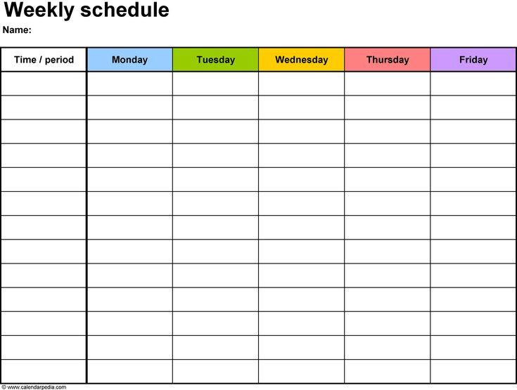 monthly calendar templates 2016
