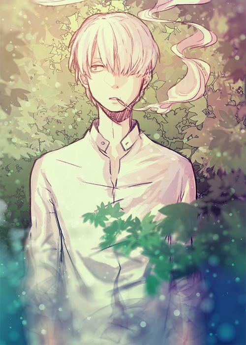Mushishi by Minty★ (via anipan.com)
