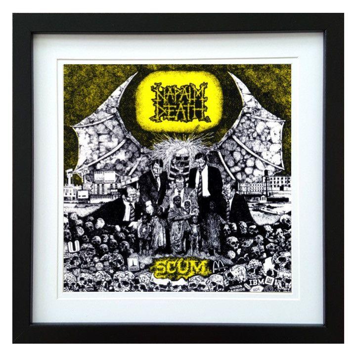 Napalm Death | Scum Album | ArtRockStore