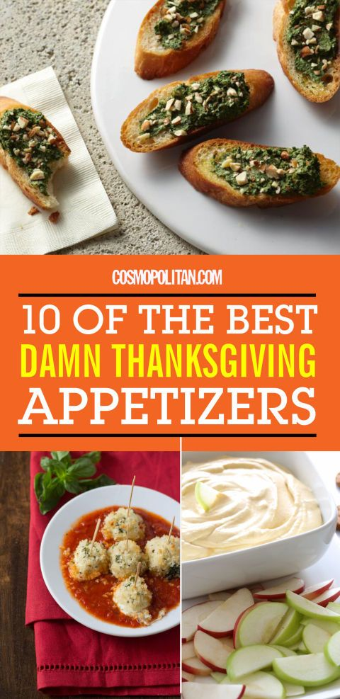 10 Best Thanksgiving Appetizers - Easy Thanksgiving Apps You Can Make Yourself