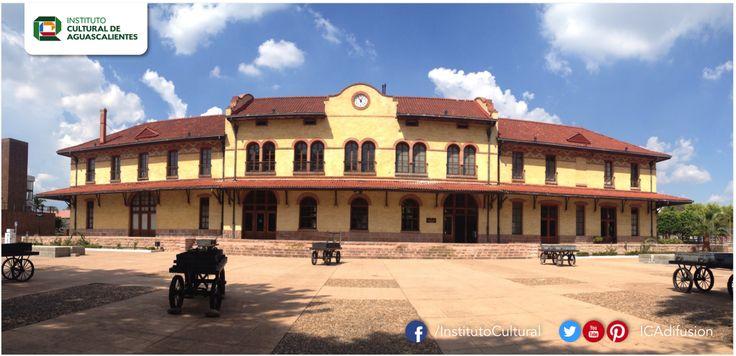 El Museo Ferrocarrilero, ubicado en la antigua estación de trenes de #Aguascalientes.  Síguelo en: www.facebook.com/MuseoFerrocarrilero