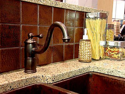 hammered copper backsplash not like this but i like the idea of a hammered - Copper Kitchen Backsplash Ideas