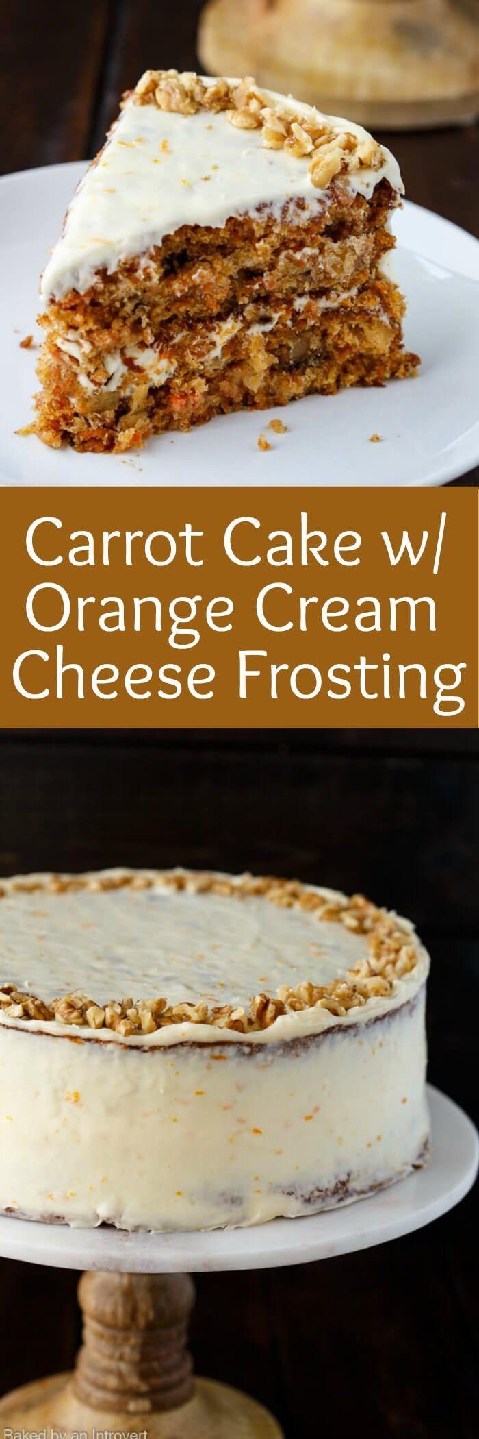 Carrot Cakes on Pinterest | Homemade carrot cake, Simple carrot cake ...