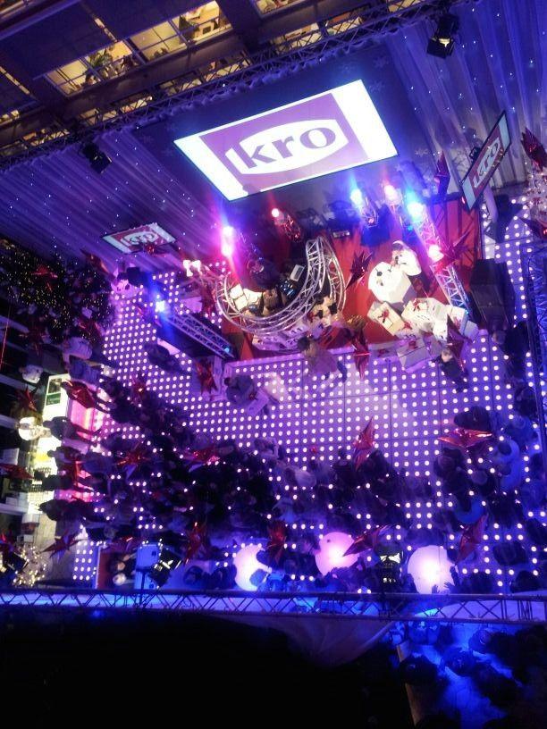 EXTRA OPTIE - LED verlichte dansvloer impressie