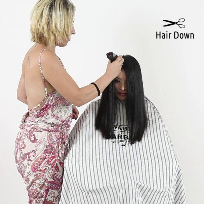 22 Brunette Girl Head Shave Forced Haircut Down Hairstyles Crop Hair