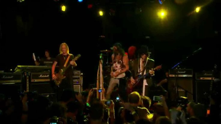Aerosmith LIVE at Whisky A Go Go/Streamed live today!! Must see..You wont get enough of Steven.