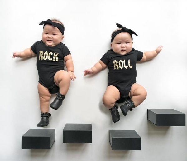 Que todo mundo se derrete por gêmeos idênticos não é novidade. Parece que o fato de olharmos para dois bebês iguais ativa um botão em nossos cérebros - tan