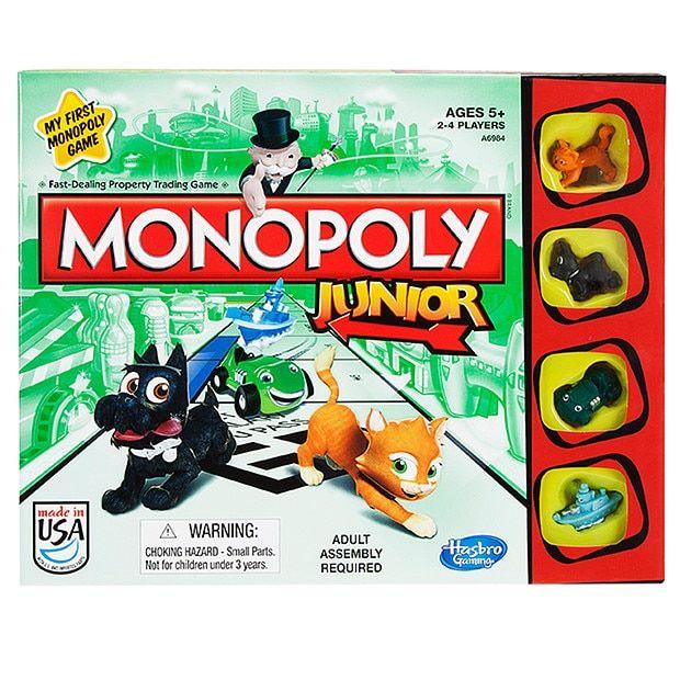 Monopoly Junior A6984 | Target Australia