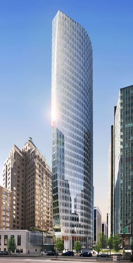 MNP Tower, 1021 West Hastings, Vancouver by Kohn Pedersen Fox Architects :: 36 floors, height 145m