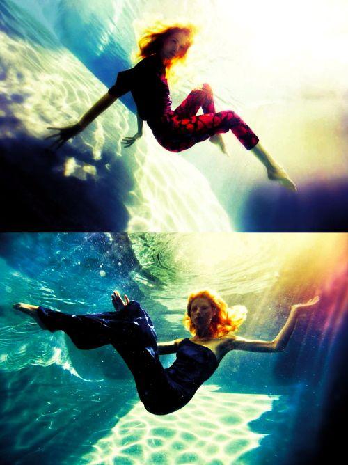 .V Magazines, Underwater Photos, High Fashion Photography, Michael Muller, Underwater Photography, Photoshoot Inspiration, Underwater Fashion, Photos Shoots, Fashion Editorial