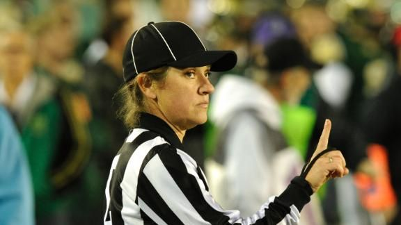 First female official assigned for Big 12 football game