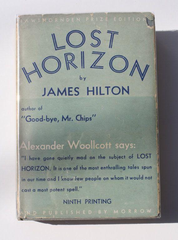Lost Horizon by James Hilton - William Morrow & Co. 1934