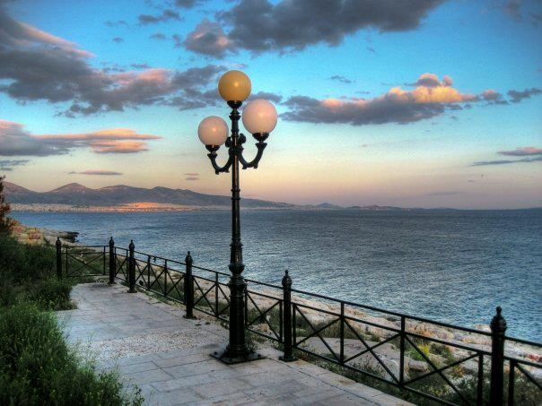 Port area for Athens, Piraeus Greece