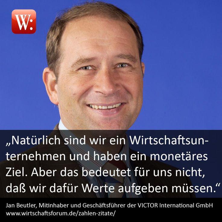 """Victor International GmbH: """"Natürlich sind wir ein Wirtschaftsunternehmen und haben ein monetäres Ziel. Aber das bedeutet für uns nicht, daß wir dafür Werte aufgeben müssen."""""""