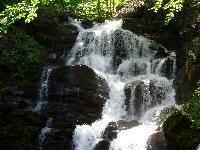 Transcarpathia.Waterfall Shipot.