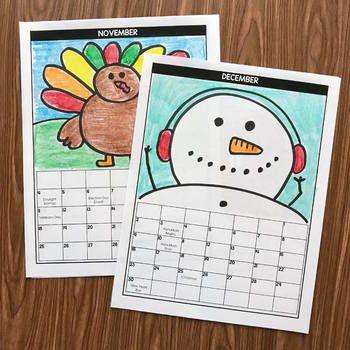 Directed Drawing Calendar - 2018 BONUS included - Directed Drawing Christmas