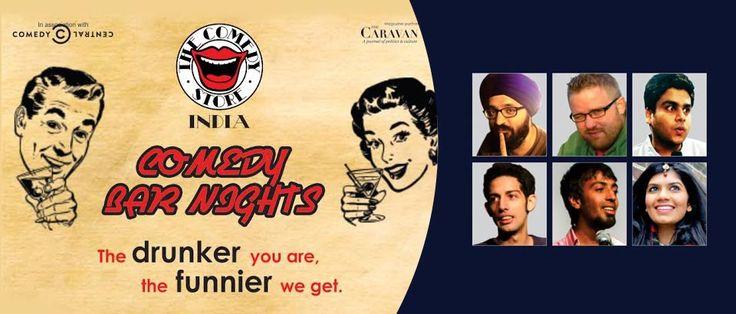 Comedy Bar Nights: Jaideep Singh Juneja, Nick Pillow, Vaibhav Sethia, Neville Bharucha, Kritarth Srinivasan, Pooja Mallipamula