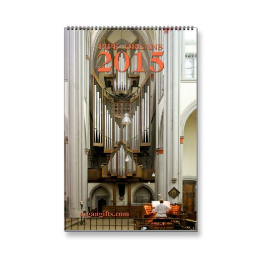 Pipe organ calendar E for 2015