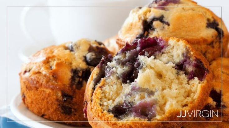 Blueberry Power Muffins