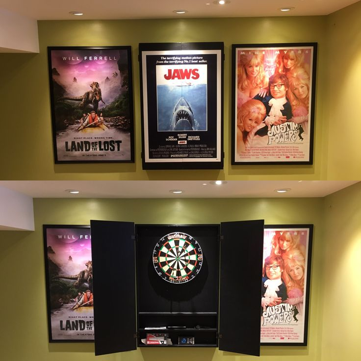 Movie Poster Dartboard