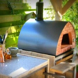 grey restyling outdoor wood fired oven is charming cooking appliances that can assist you create pizza master pieces in your patio