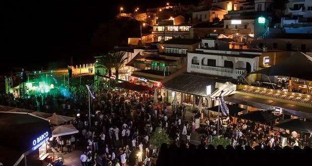 Noite Black & White no Carvoeiro a festa do Verão Algarvio - Algarlife