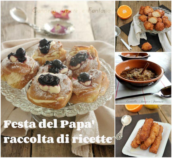 Festa del Papà raccolta di ricette