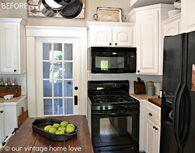 Top 25 ideas about kitchen black appliances on pinterest - Kitchen designs with black appliances ...