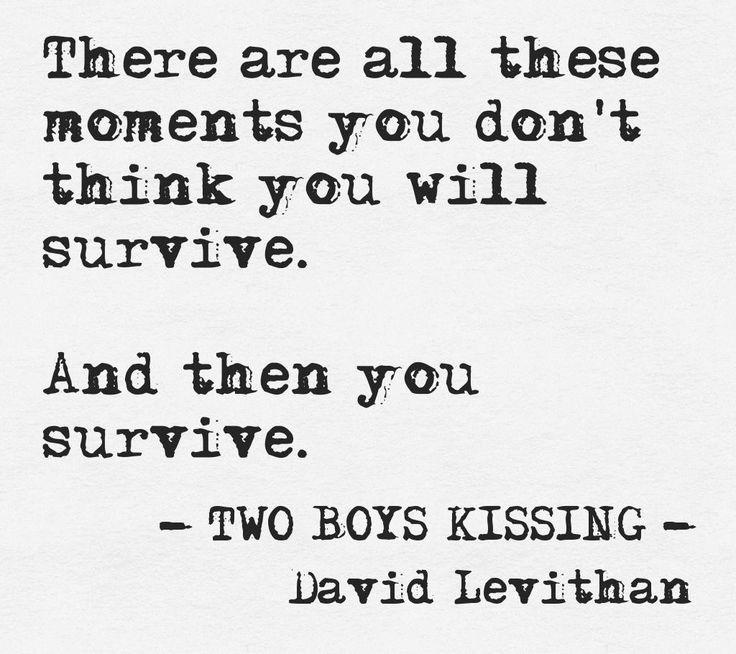 Two Boys Kissing, David Levithan