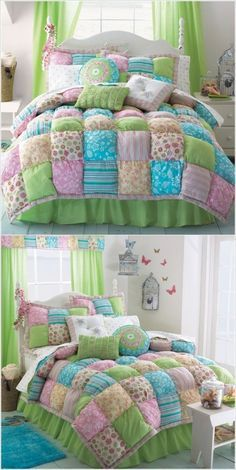 Puff Quilt So adorable & looks so cozy!