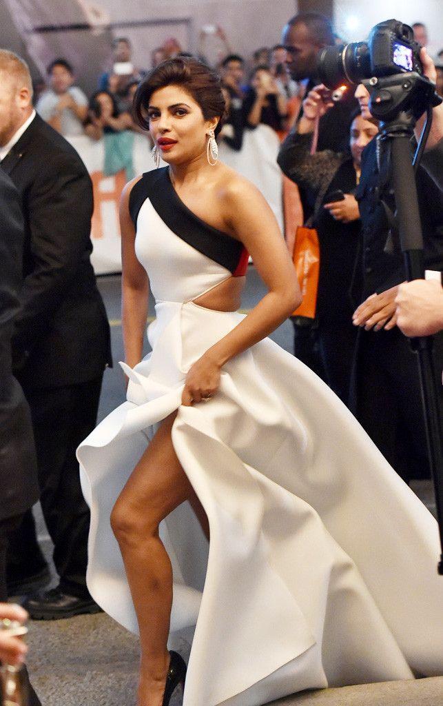 Priyanka Chopra from TIFF Red Carpet Round-Up: Opening Night   E! Online