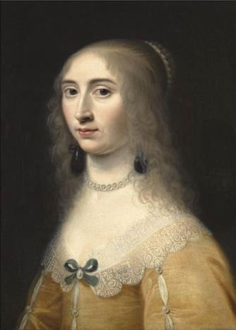 Portrait of a woman by Jacob Willemsz Delff the Younger, 1643
