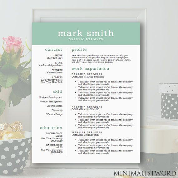 91 best Resume Templates images on Pinterest Resume templates - resume template microsoft word download