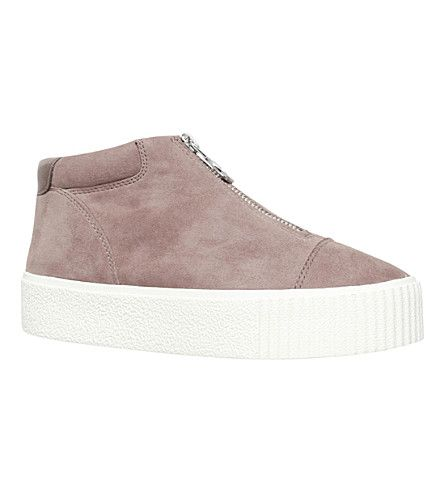 CARVELA Little suede high-top trainers