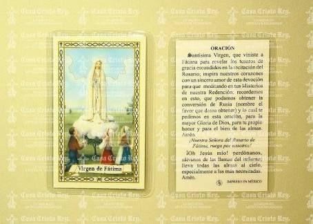 Image result for imagen oracion virgen de fatima
