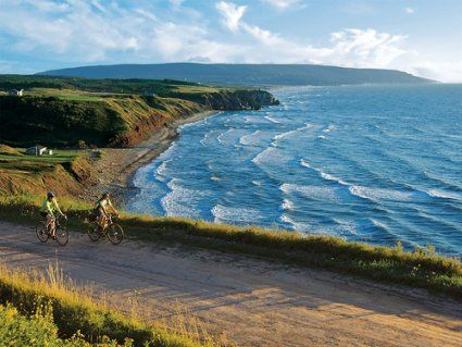 The Ceilidh Coastal Hiking Trail on Cape Breton Island, Nova Scotia