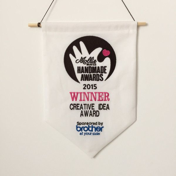 I won a Mollie Makes Handmade award! – crafting and handmade