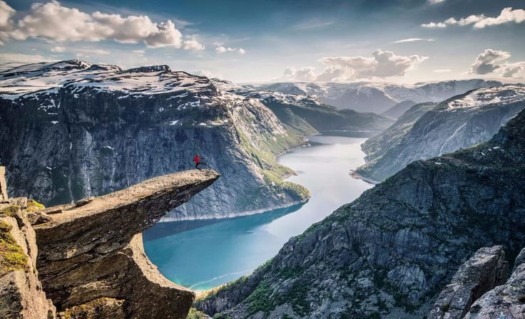 Norway is a Scandinavian country encompassing mountains, glaciers and deep coastal fjords. Oslo, the capital, is a city of green spaces and museums. Preserved 9th-century Viking ships are displayed at Oslo's Viking Ship Museum. Bergen, with colorful wooden houses, is the starting point for cruises to the dramatic Sognefjord.  #travelmedia #travelblogs #socialmedia #travelers #traveler #backpacker #adventurer #blogsite #blog #microblog www.PackerPal.com