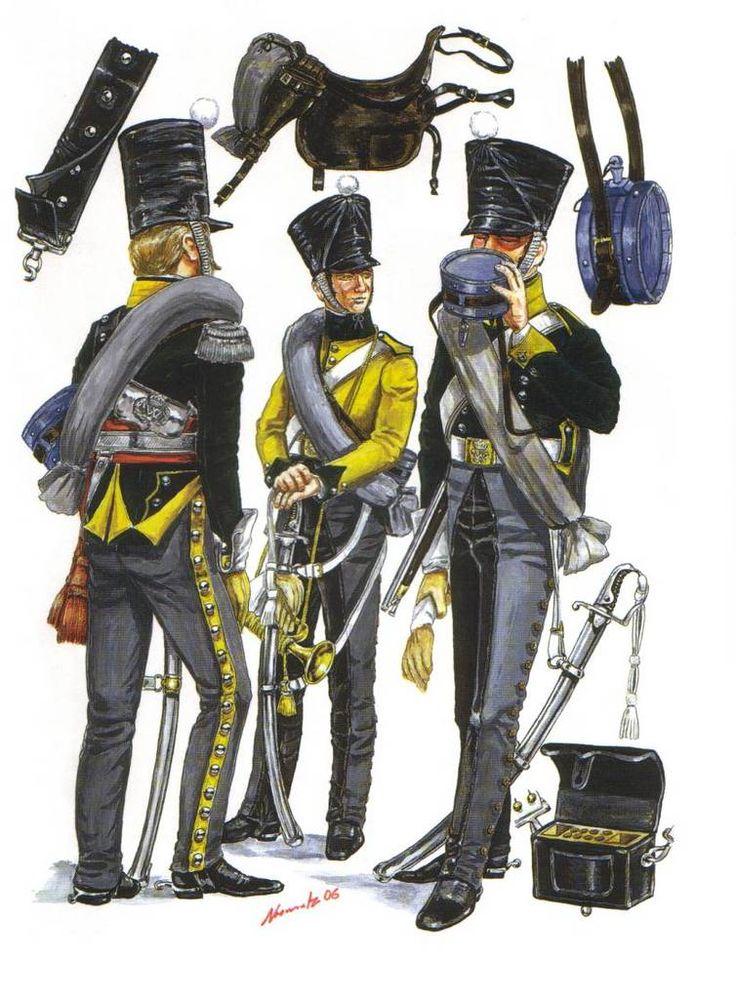 Belgian 5th Light Dragoon campaign dress