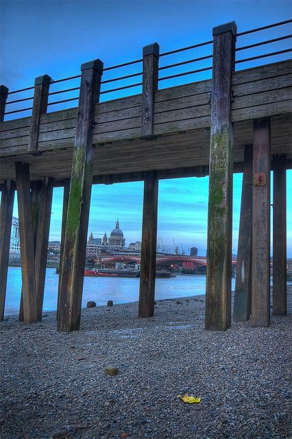Old Pier, Southbank, London