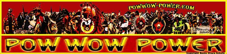 Powwow-Power.Com Logo, © 2010 Becky Olvera Schultz