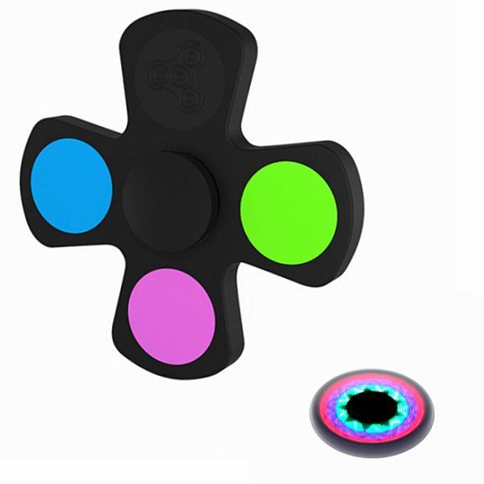 ECUBEE LED Spinner Fidget Spinner Hand Spinner Reduce Stress  EDC Gadget