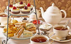 Afternoon tea mini scones